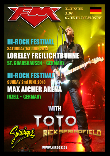 FM at HiRock Festival Germany