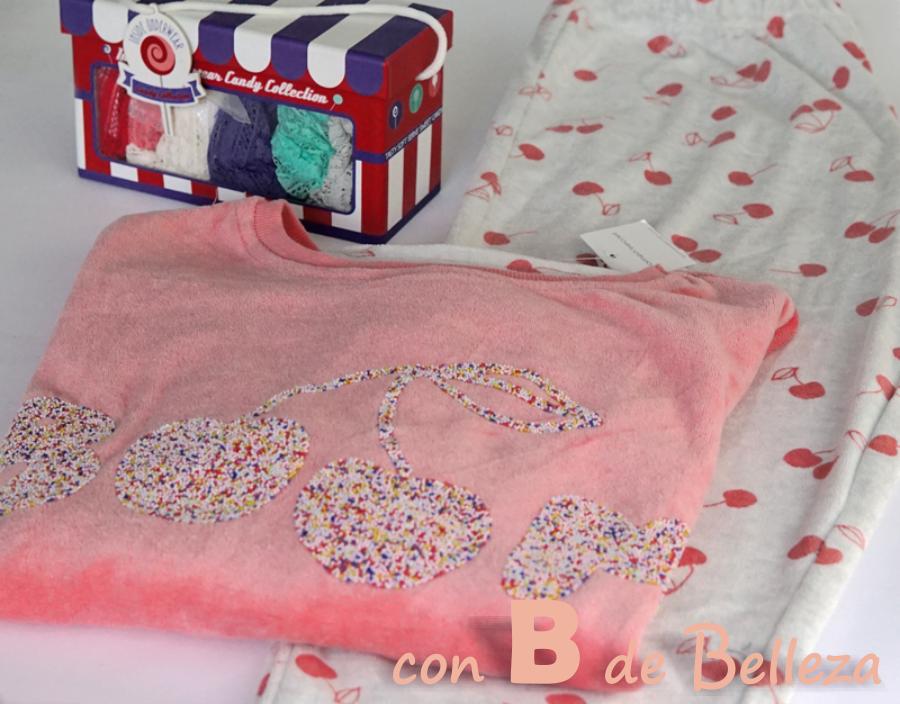 Pijama con cerezas de WomenSecret