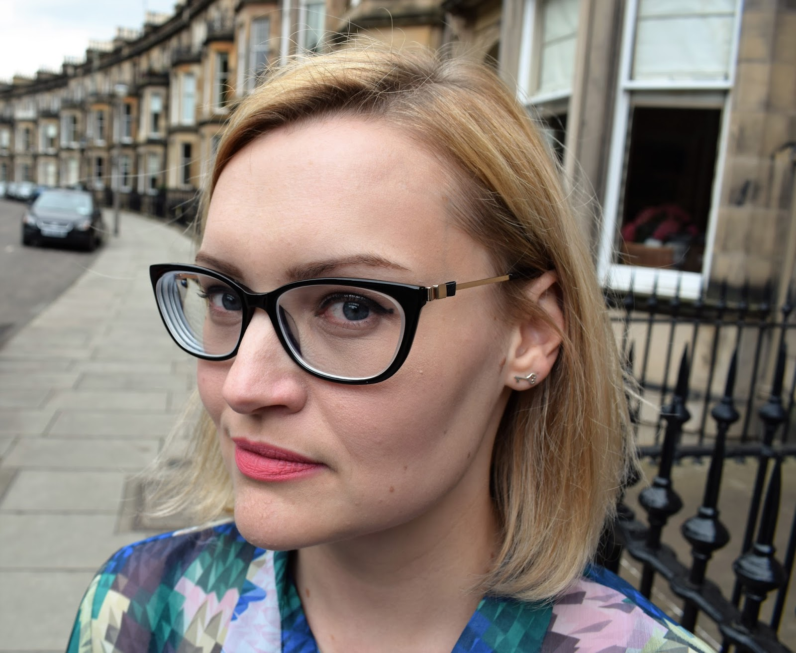 Vision Express, Heritage range glasses, exclusive brands at Vision Express, Chanel glasses dupe, Scottish blogger, fashion blogger Scotland, Karen Smith jewellery, Haymarket photo shoot location