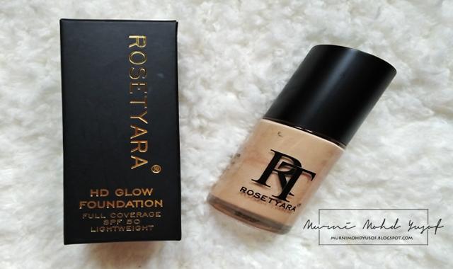 foundation rosetyara, Rosetyara Kosmetik Viral No.1 Malaysia, snowdrop, serum foundation rosetyara