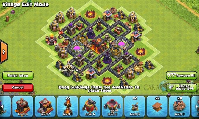 pertahanan terbaik untuk base war th 6 di clash of clans 15