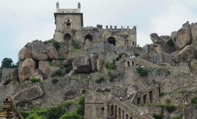Outer view of Golconda Fort
