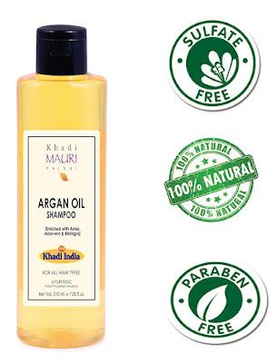 KhadiMauri Herbal Argan Oil Shampoo