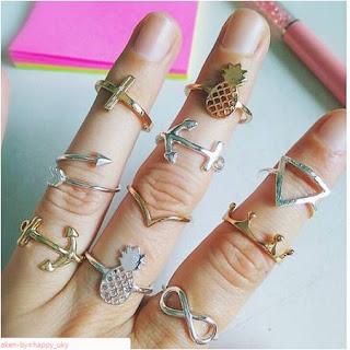 anillos bisuteria al por mayor