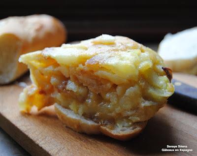 tortilla espagnole recette tapas pommes de terre