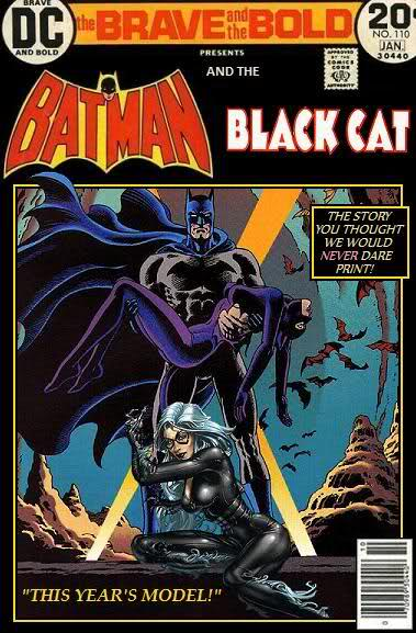 Super-Team Family: The Lost Issues!: Batman and The Black Cat