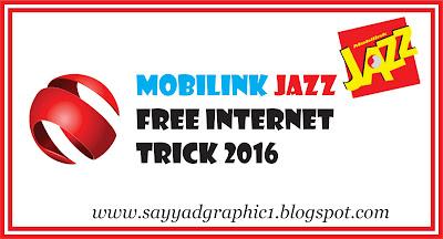 Mobilink Jazz Free Internet