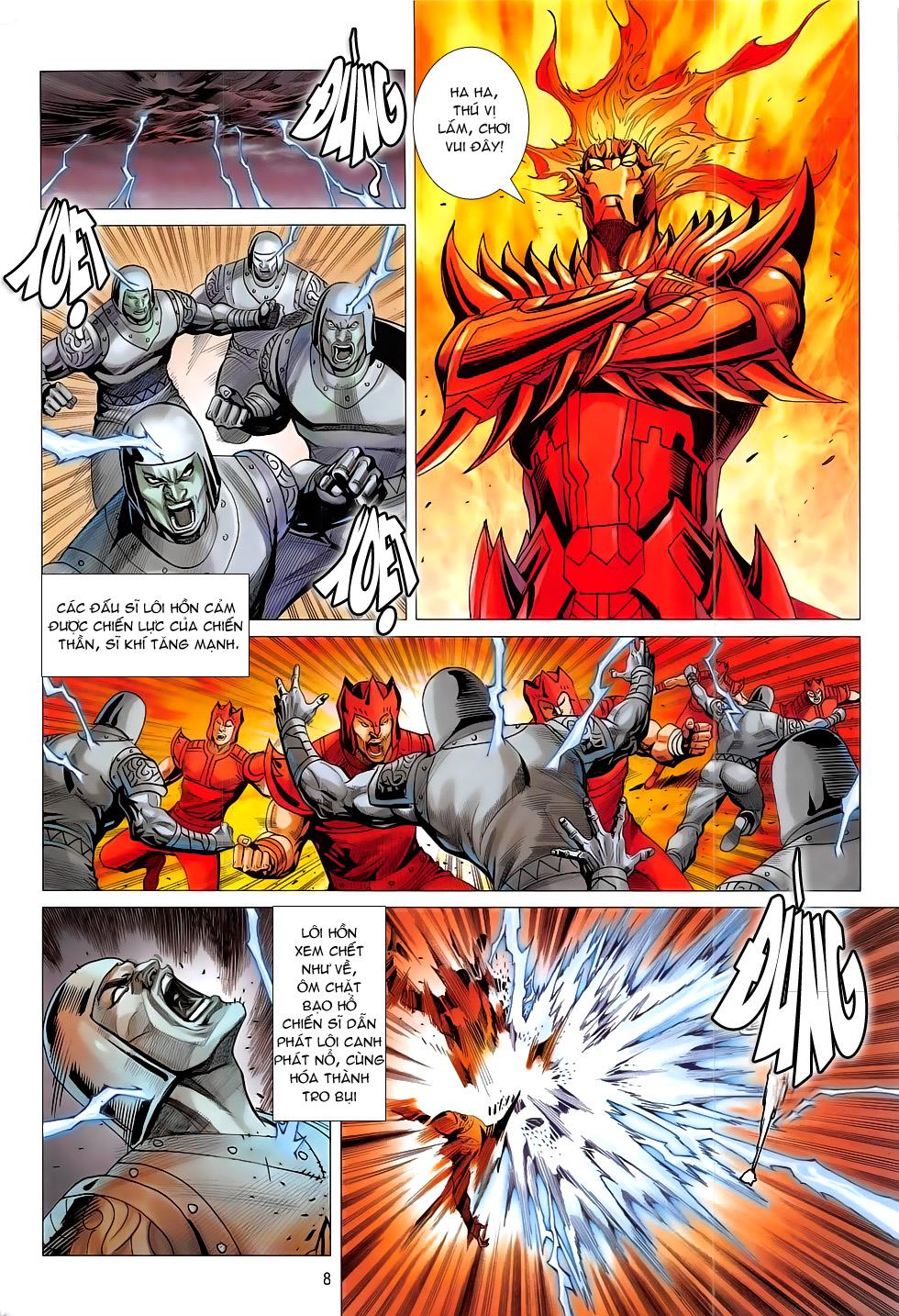 Chiến Phổ chapter 17: chiến thần phẫn nộ trang 8