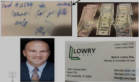 Attorney Mark Lowry and Attorney Carla Lowry; Corrupt attorneys in Fort Lauderdale