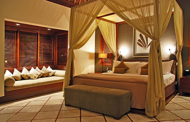 Bedroom wit the king size bed at the Villa Asta, Rental Vacation Villa, Bali