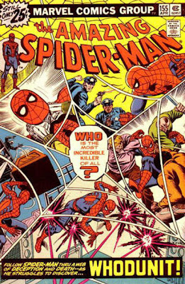 Amazing Spider-Man #155, whodunit