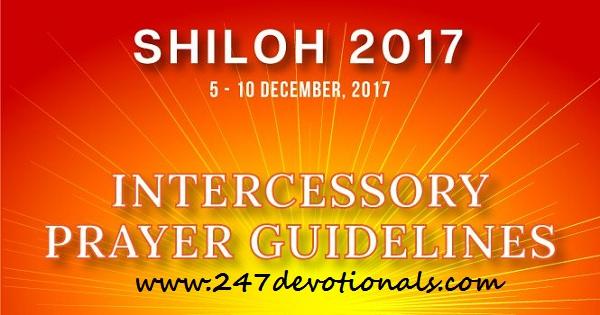 SHILOH 2017 A NEW DAWN