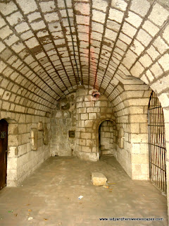 inside cell Puerta Real at Intramuros