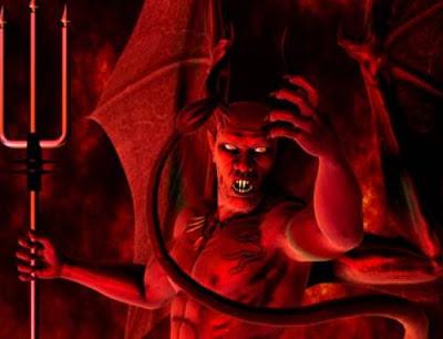 Foto Setan Asli