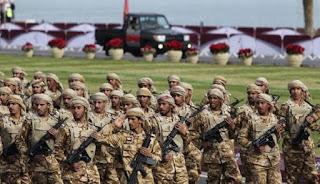 tentara mematikan Negara-negara Timur Tengah