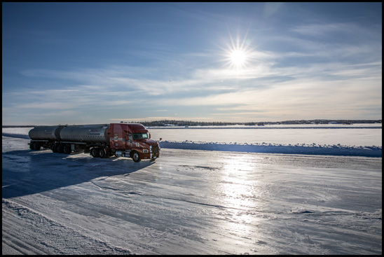 Mack Trucks recently premiered the third episode of its RoadLife 2.0 series featuring Westcan Bulk Transport and their experiences hauling loads on the ice roads of northwestern Canada. The episode is available on roadlife.tv.