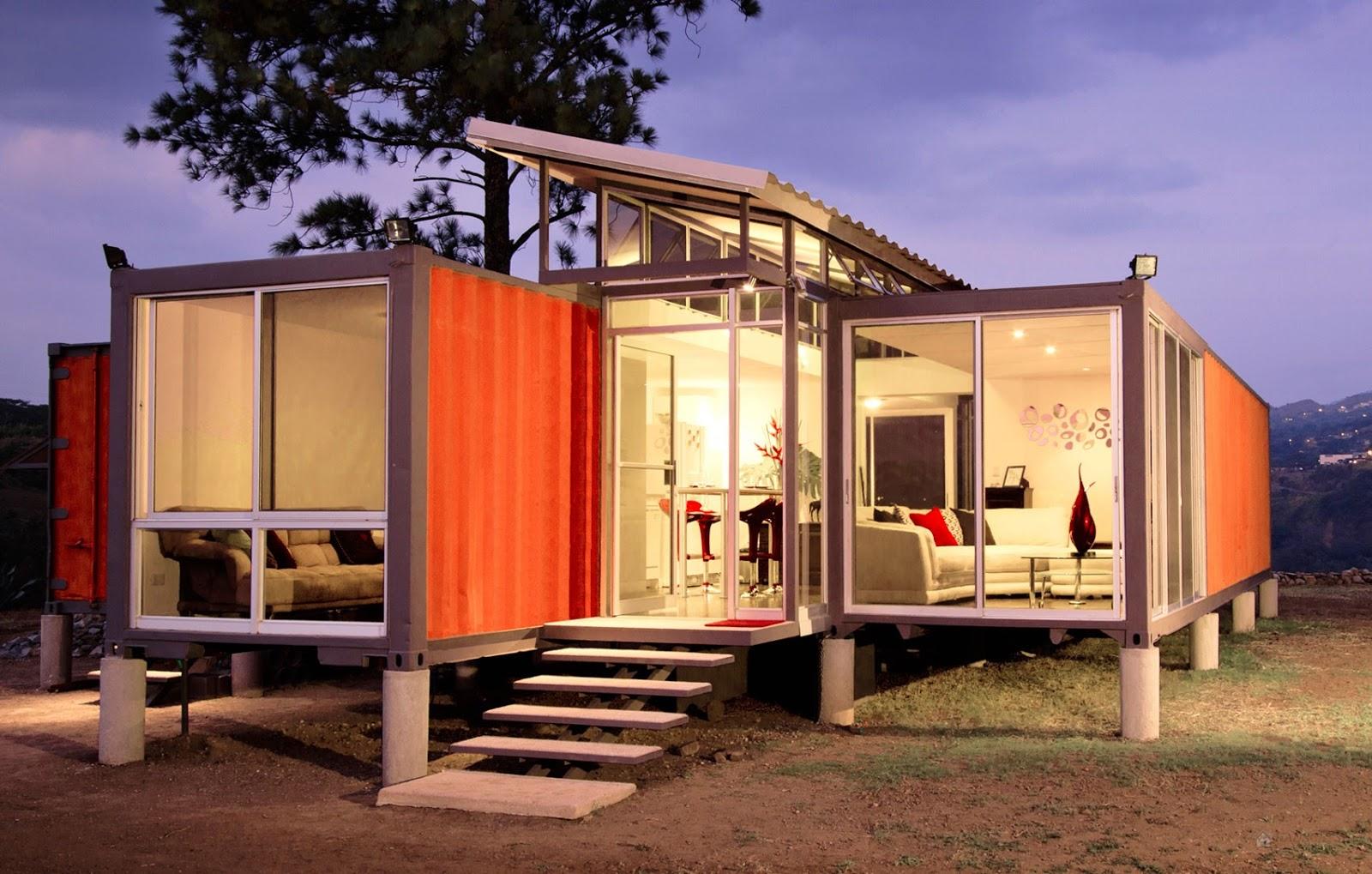 16 Model Desain Rumah dari Kontainer