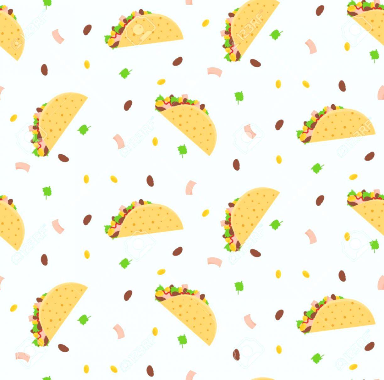 Cartoon Mexican Food Wallpaper