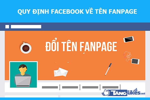 doi ten fanpage tren facebook