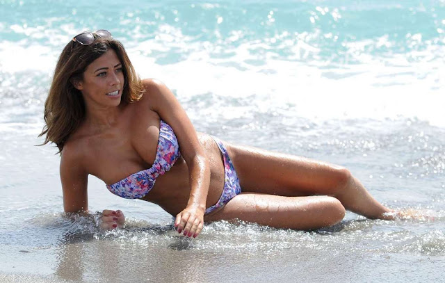 Pascal Craymer in Bikini in Ibiza