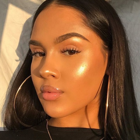 Melanin Monday - black girl magic highlight makeup eemmahallberg instagram baddie