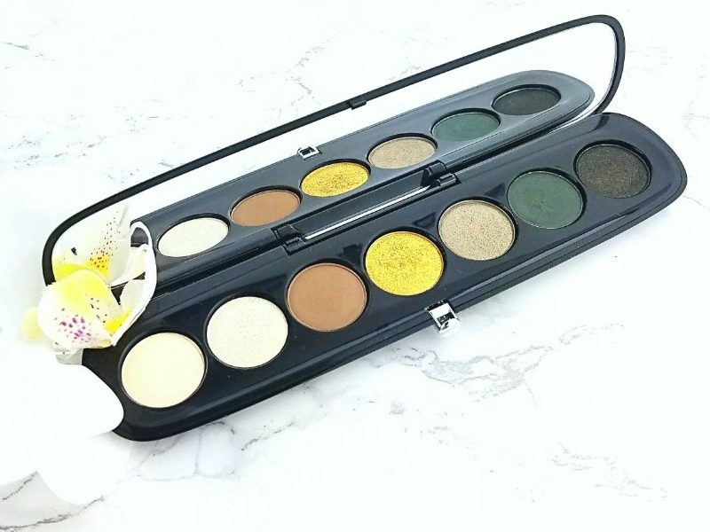 Makeup I Want to Concentrate on Using This Fall  Marc Jacobs Iconic Eye Shadow Palette
