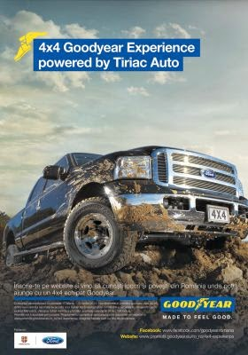 4X4 Goodyear Experience powered by Tiriac Auto