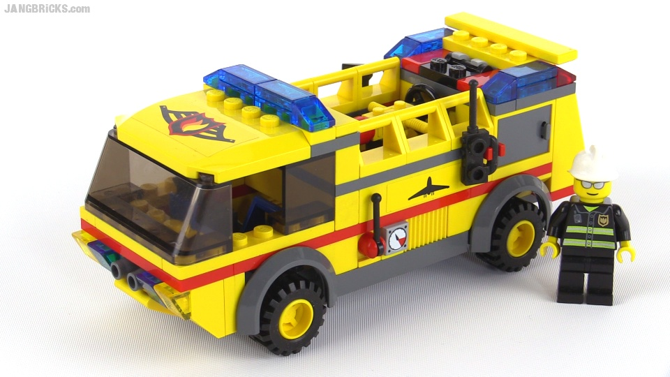 Lego City Airport Fire Truck From 2006 Set 7891