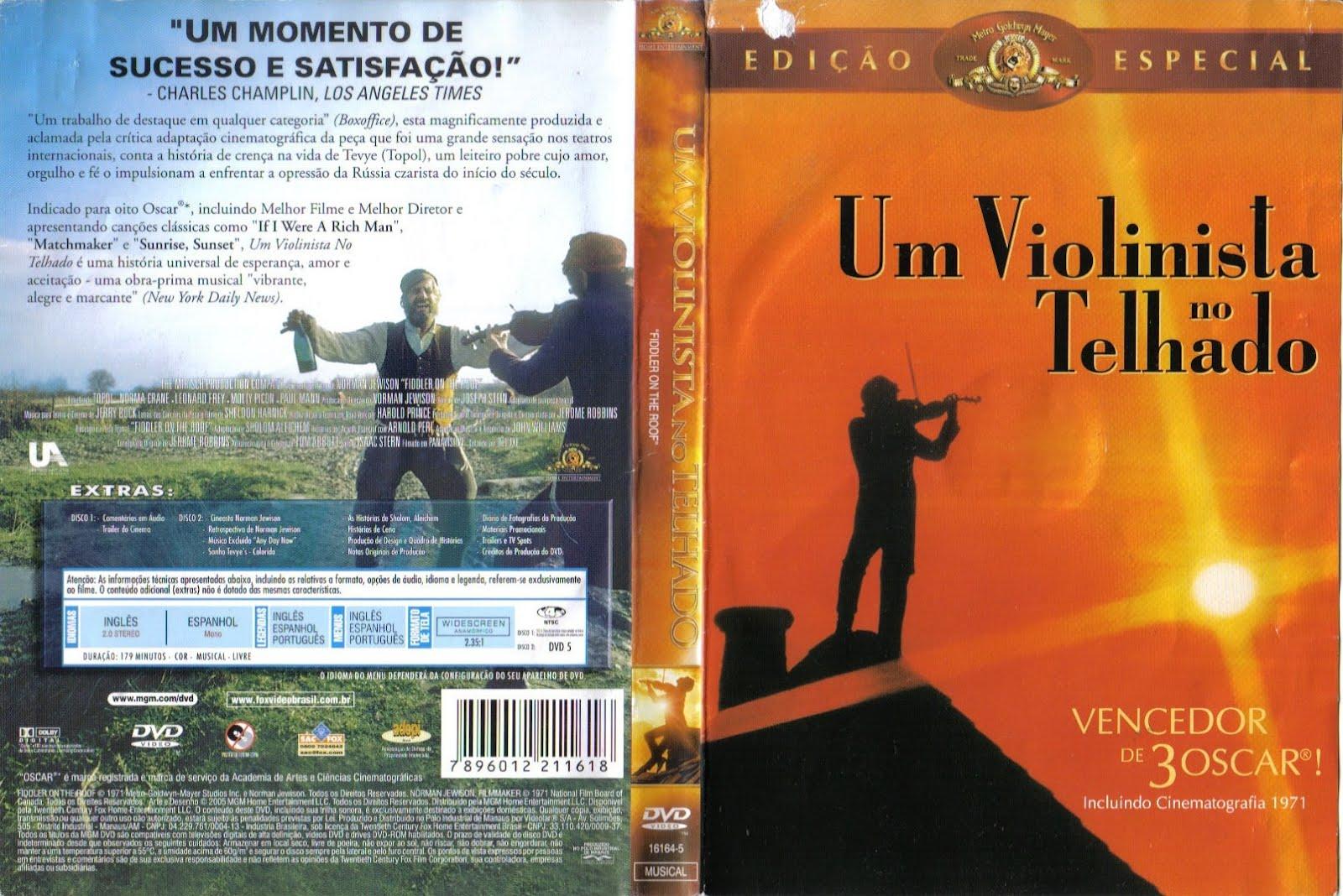 filme um violinista no telhado legendado