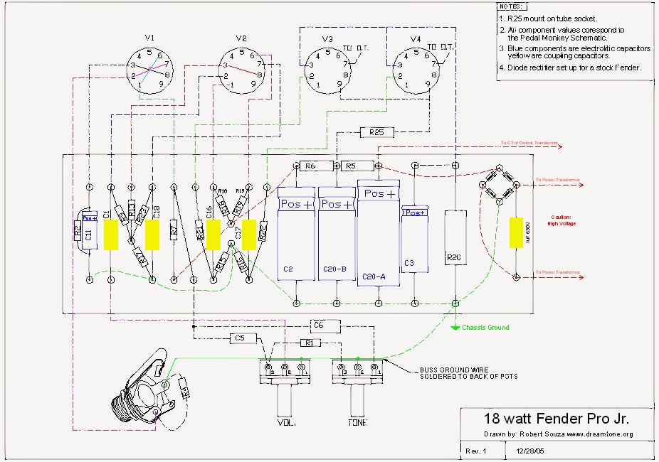 Marshall 18w Clone Wiring Diagram : 33 Wiring Diagram