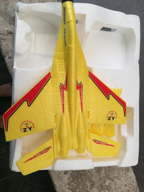 Bộ vỏ chế máy bay mini Su27_5