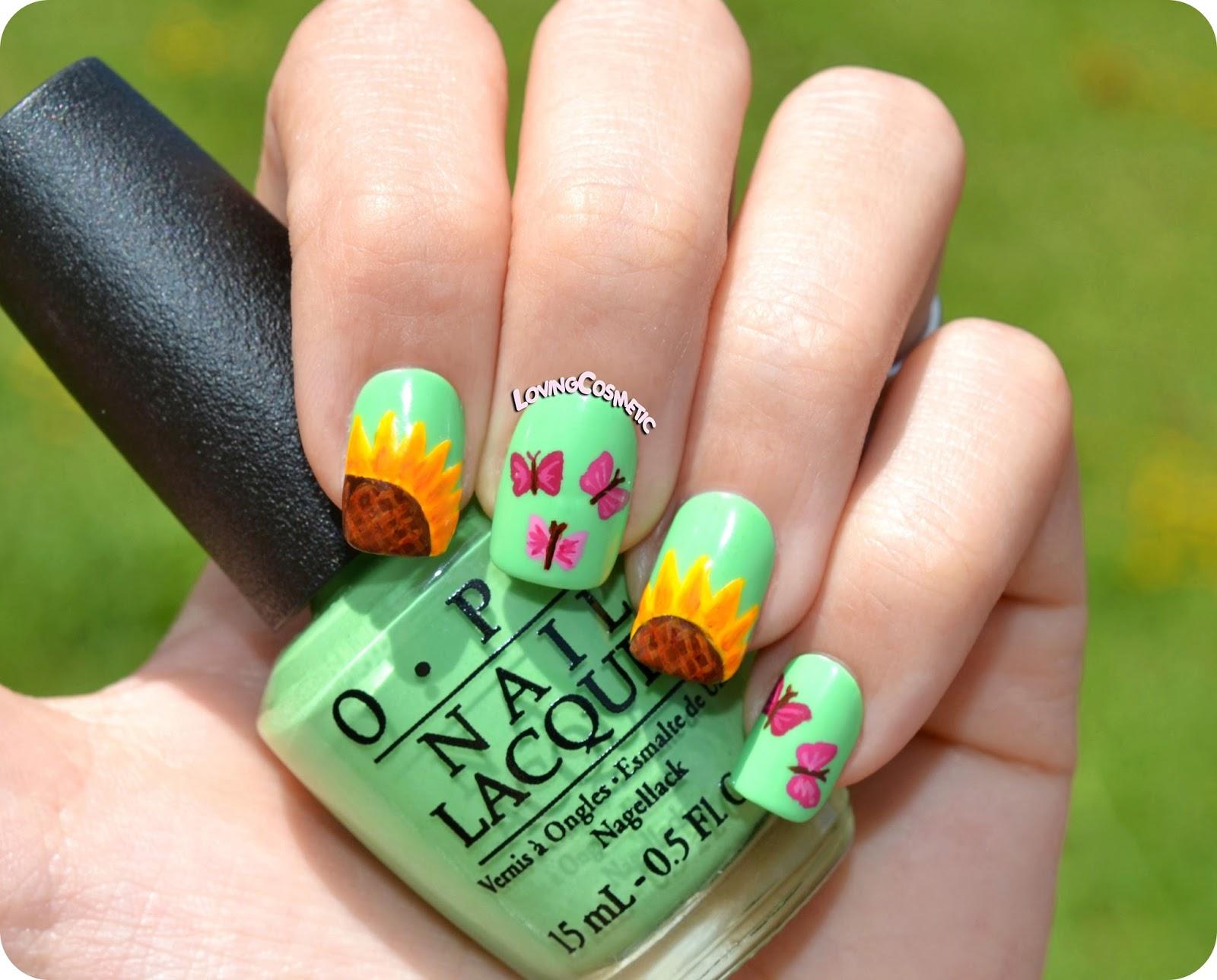 Bonito Diseño De Uñas Mariposa Foto - Ideas Para Pintar Uñas - knxc.info