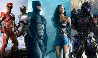 liga de la justicia: los heroes de dc se unen a los power rangers y a los transformers