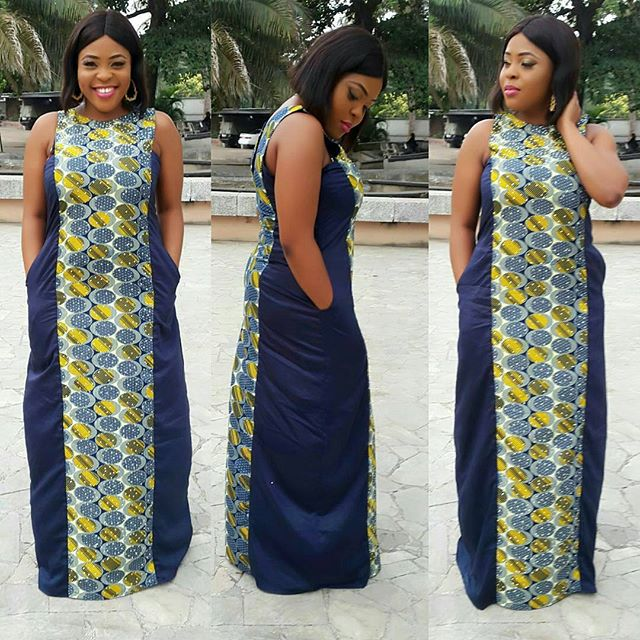 Classic A-Shape Ankara Gowns Styles 2018 You Should Have - Zaineey\'s ...