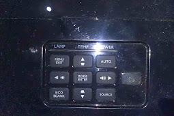 Memperbaiki indikator lamp nyala proyektor BenQ MX503, MX501