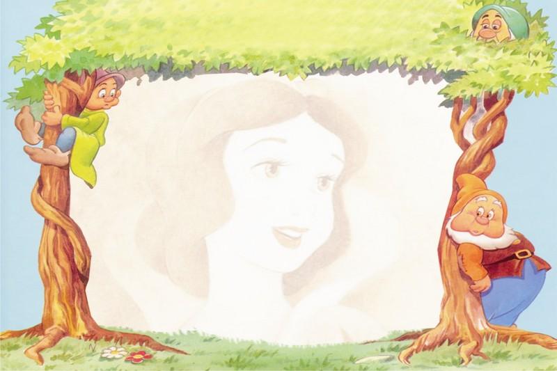 Imagenes De Princesas De Disney Para Cumpleaos. Marco De Cumpleaos ...
