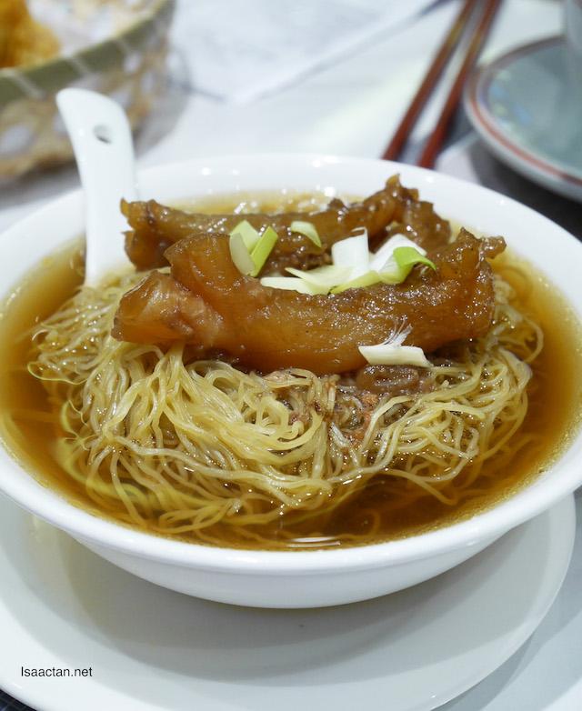 Beef Tendon & Brisket Soup Noodle