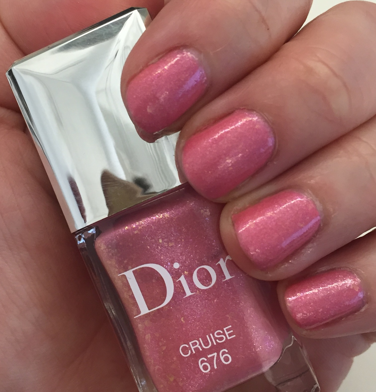 The Beauty of Life: On Wednesdays We Wear Pink: Dior Cruise 676 Nail ...