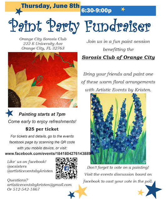 Paint Party Fundraiser - Everyone is invited!!