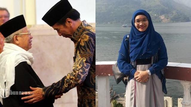 Kekhawatiran Istri Maruf Amin Jika Suaminya Jadi Wakil Presiden