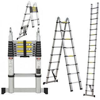 các ứng dụng của thang nhôm rút đôi nikawa nk-50ai