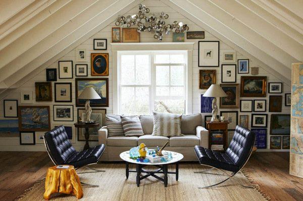 Çatı katı dekorasyon örnekleri 2