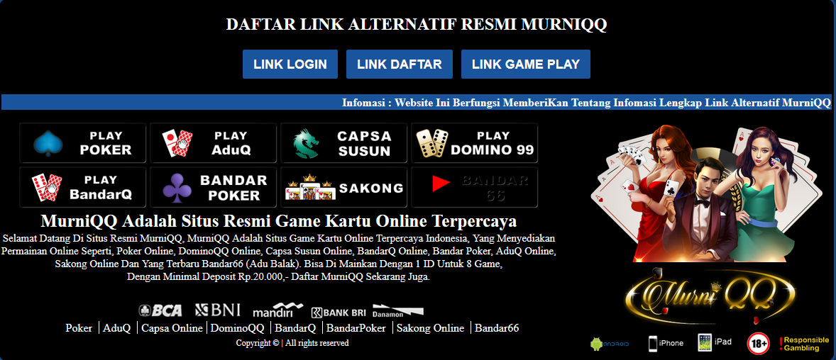 13situs Com Agen Poker Online Terpercaya Murniqq