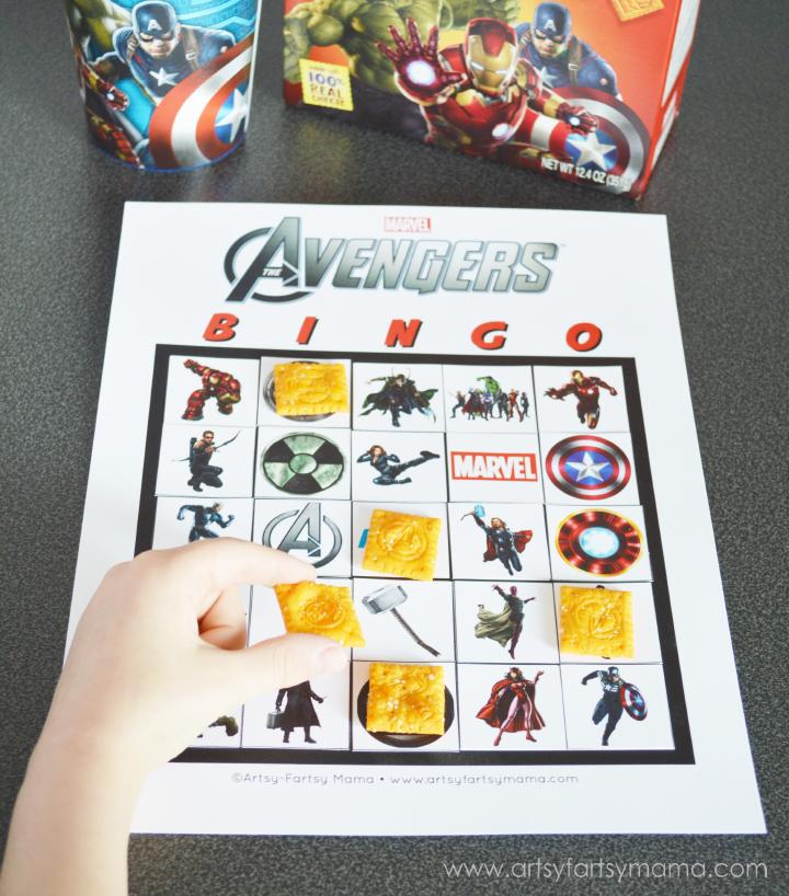 Artsy-fartsy Mama: Avengers-Themed Girl's Night