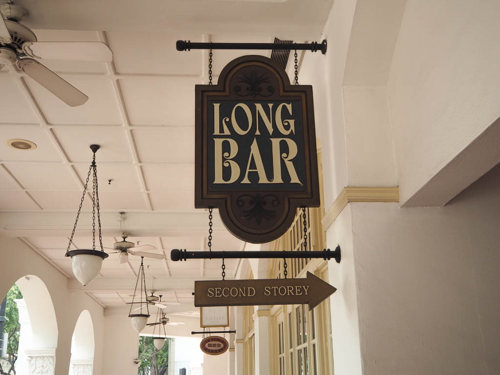 The Long Bar, Raffles Hotel, Singapore