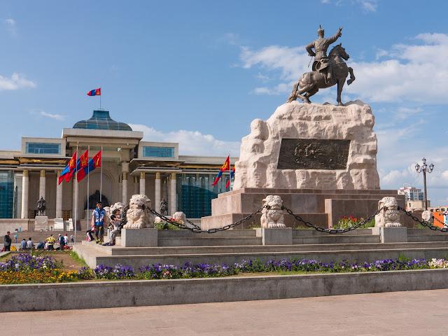 Parliament House, Sukhbaatar Square, Ulaanbaatar