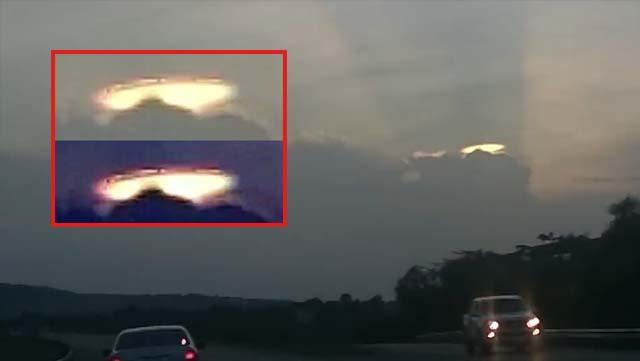 Platillo volador se hace visible en el cielo de Jamaica