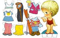 Бумажная кукла: ПУПС
