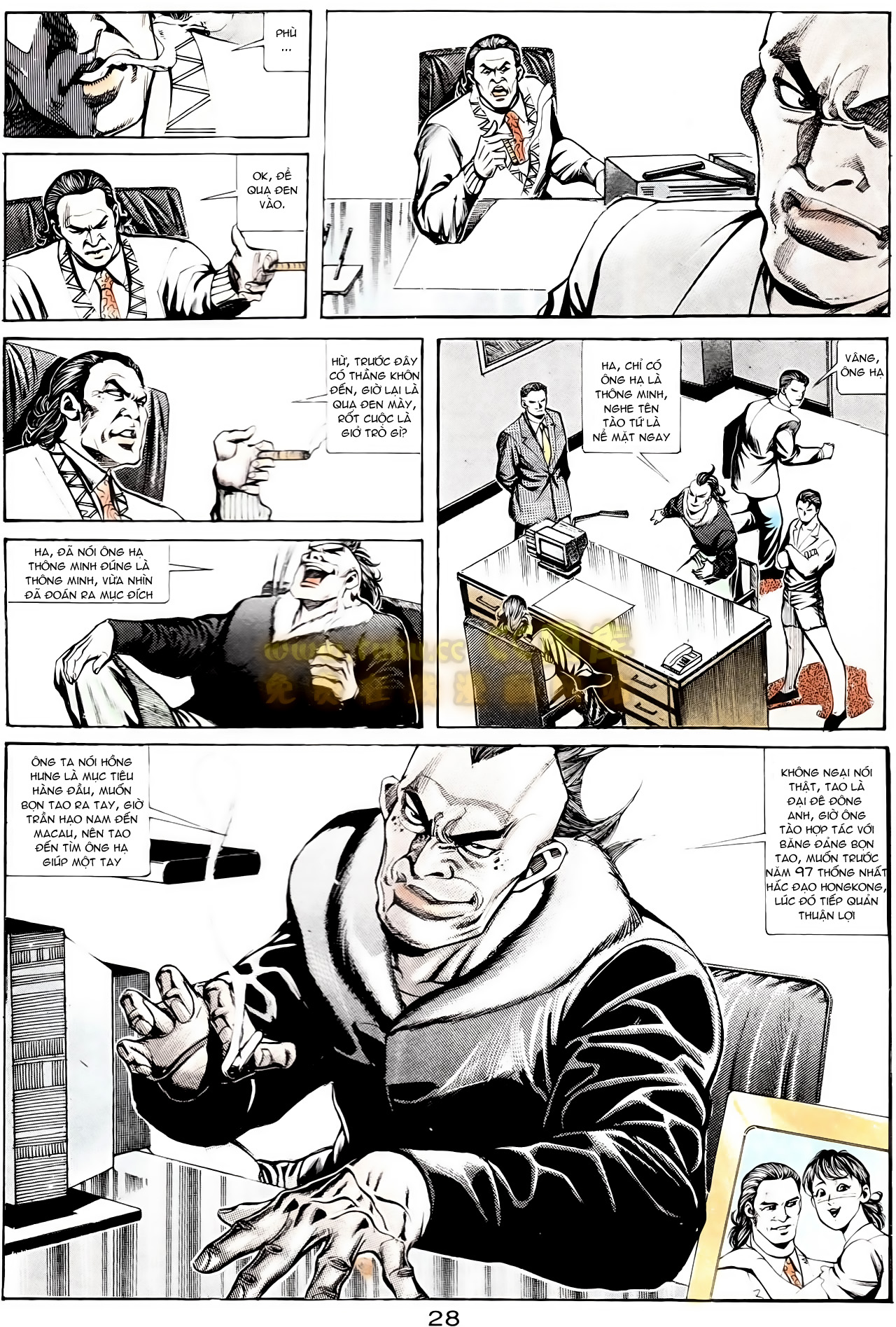 Người Trong Giang Hồ chapter 167: tội sống khó tha trang 16