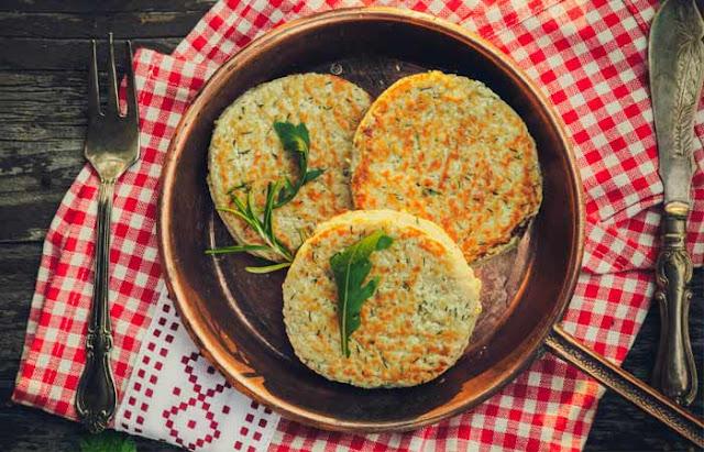 Baked Special & Vegetable Cutlet